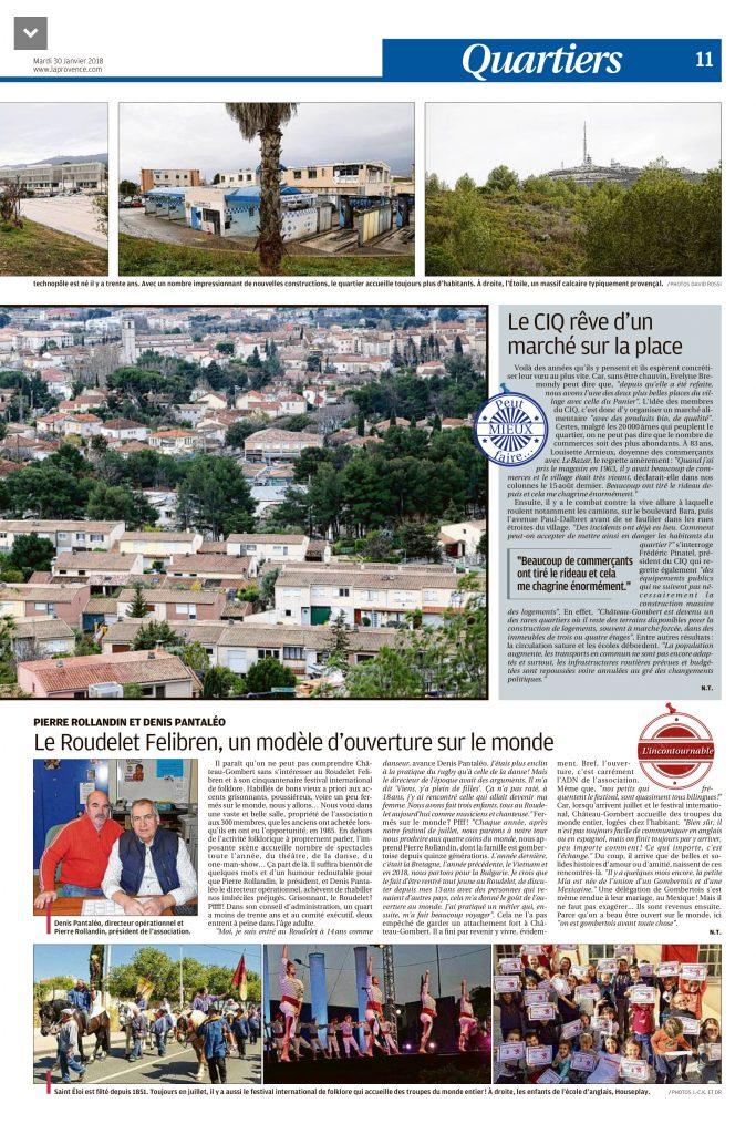 Article La Provence partie 2