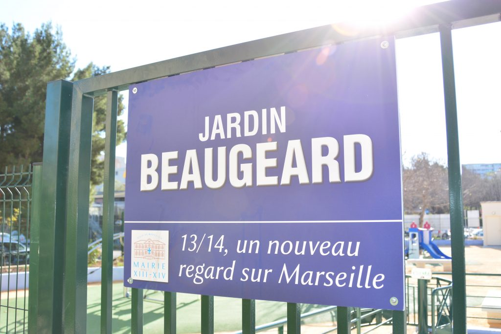 Affiche Jardin Beaugeard - Saint Just