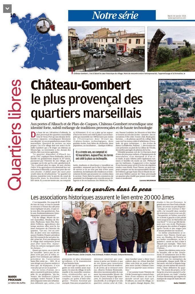 Article La Provence partie 1