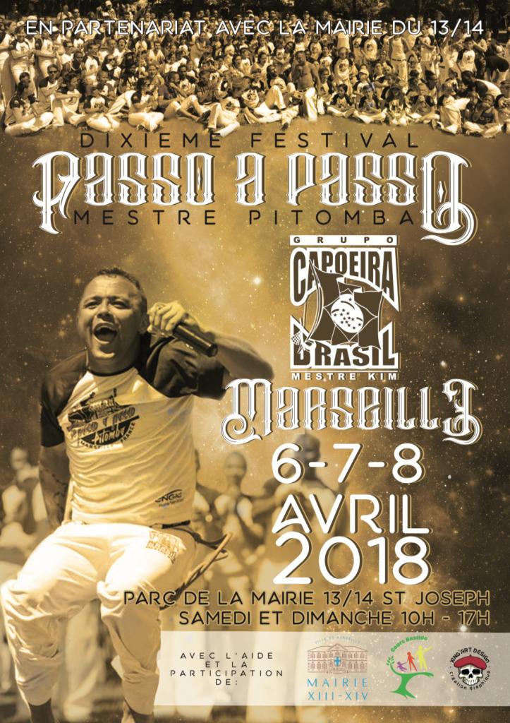 Affiche 10ème festival de Caopeira