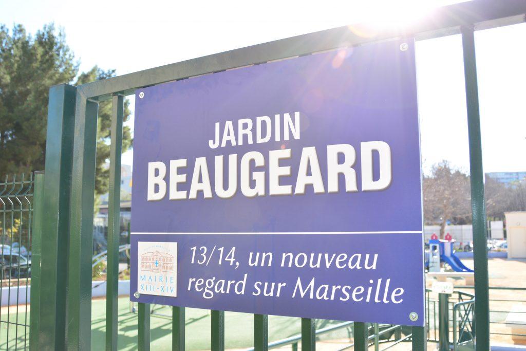 Affiche Jardin Beaugeard - Saint Just