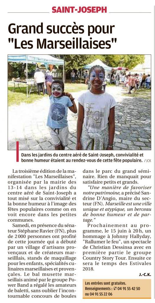 """Grand succès pour """"Les Marseillaises"""" - La Provence"""