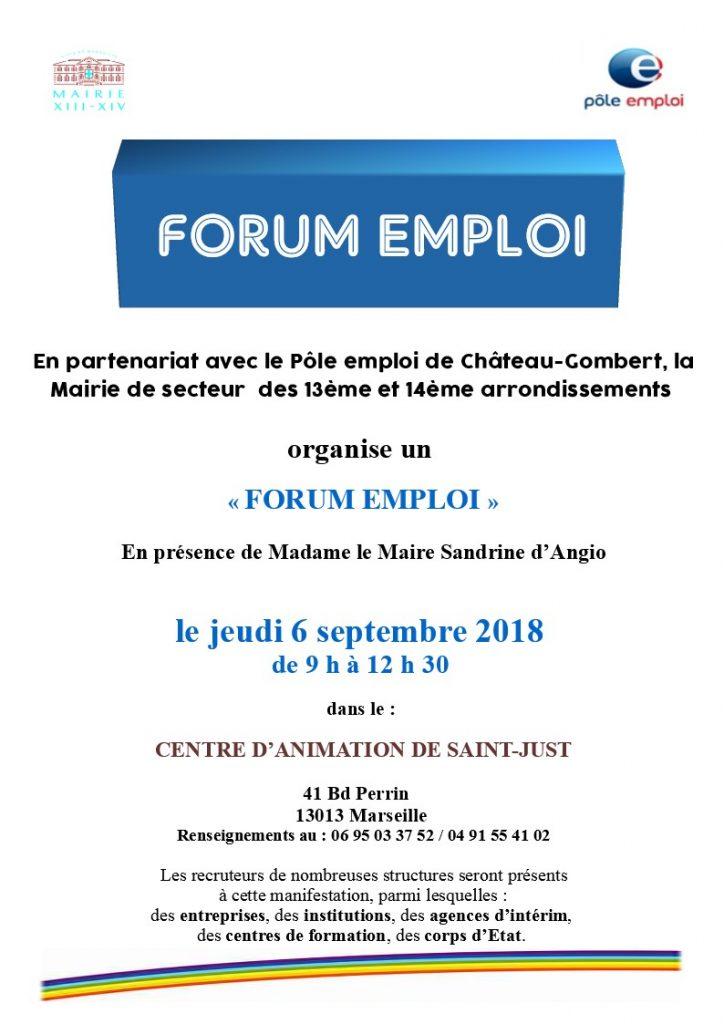 Flyer Forum Emploi