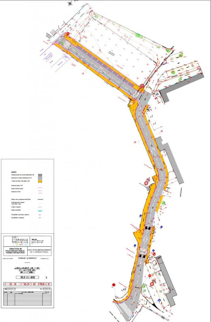 nouvelle voie de circulation va être créée dans la cité des Micocouliers