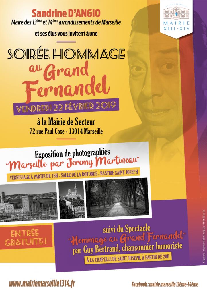 Soirée hommage au grand Fernandel